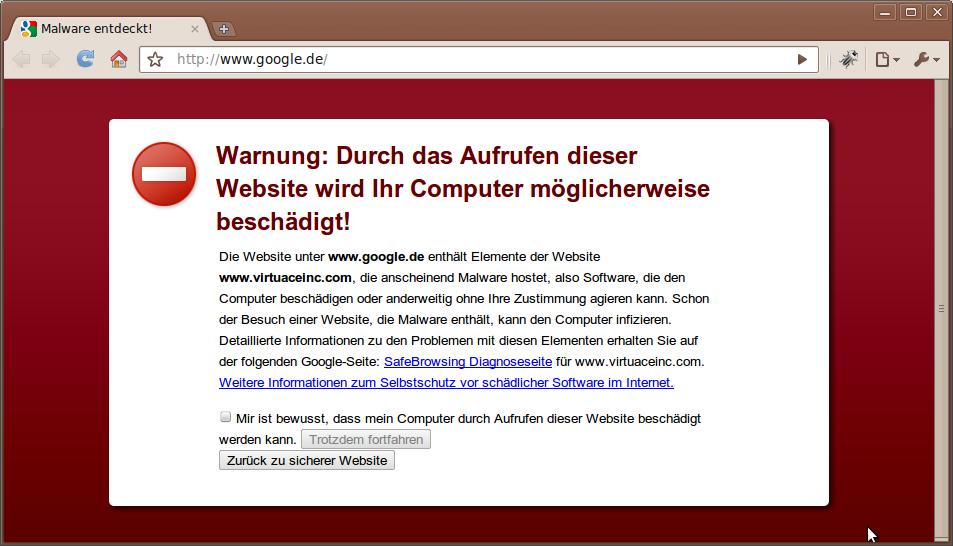 malware Attacke auf Apple Blog