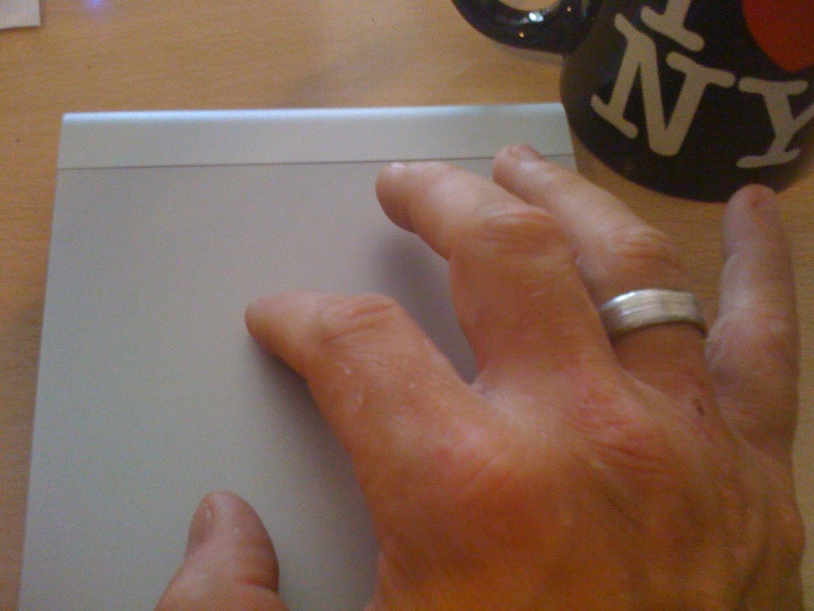 Apple Trackpad - Foto frisch-gebloggt.de