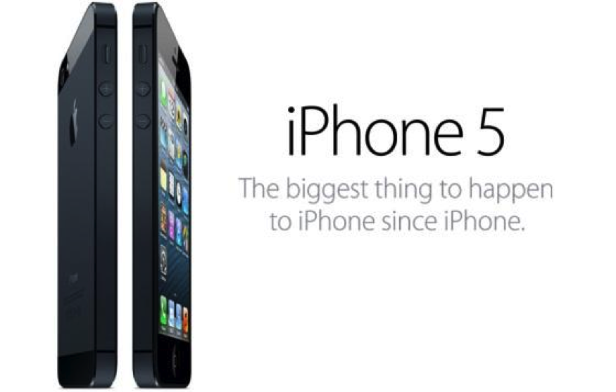 iphone5 (Bild Copyright by www.apple.de)