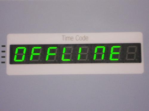 offline (Foto: von mikecogh/Flickr)