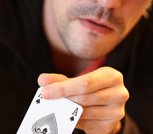 Pokerface (Foto: von Ulf Liljankoski / Flickr)
