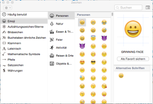 emoticons mac 2